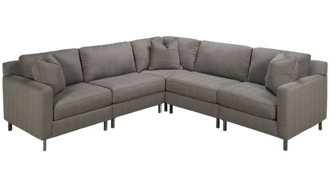 Bauhaus Trackarm Sec 5 Piece Sectional Jordan S Furniture Furniture Living Room Furniture Sofas Furniture Shop