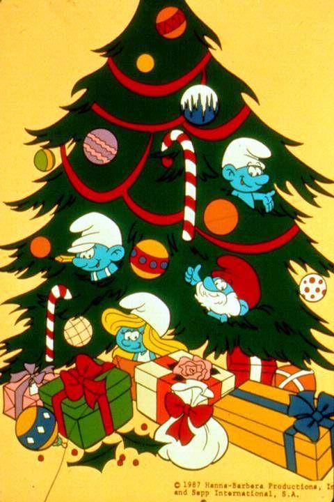 Smurfs Christmas.Smurfs Smurfty Smurf Smurf Smurf Christmas Cartoons Christmas