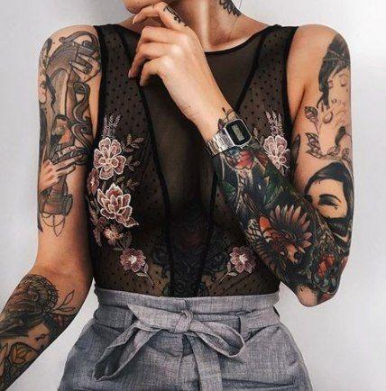 Photo of Neue Tattoo Ärmel Mädchen Unterarm Tinte Ideen