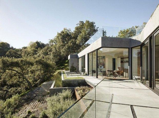 Oak Pass Main House par Walker Workshop Archi Pinterest
