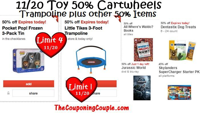 628cd842d34 Target Cartwheel 50% off Toy for Today Only! Plus More Big CW Discounts!