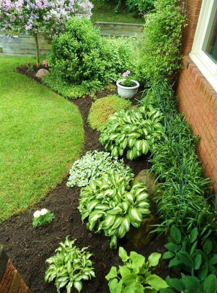 90 Beautiful Side Yard Garden Decor