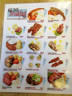 Silog meals google search pinoy food pinterest meals pinoy silog meals google search forumfinder Choice Image