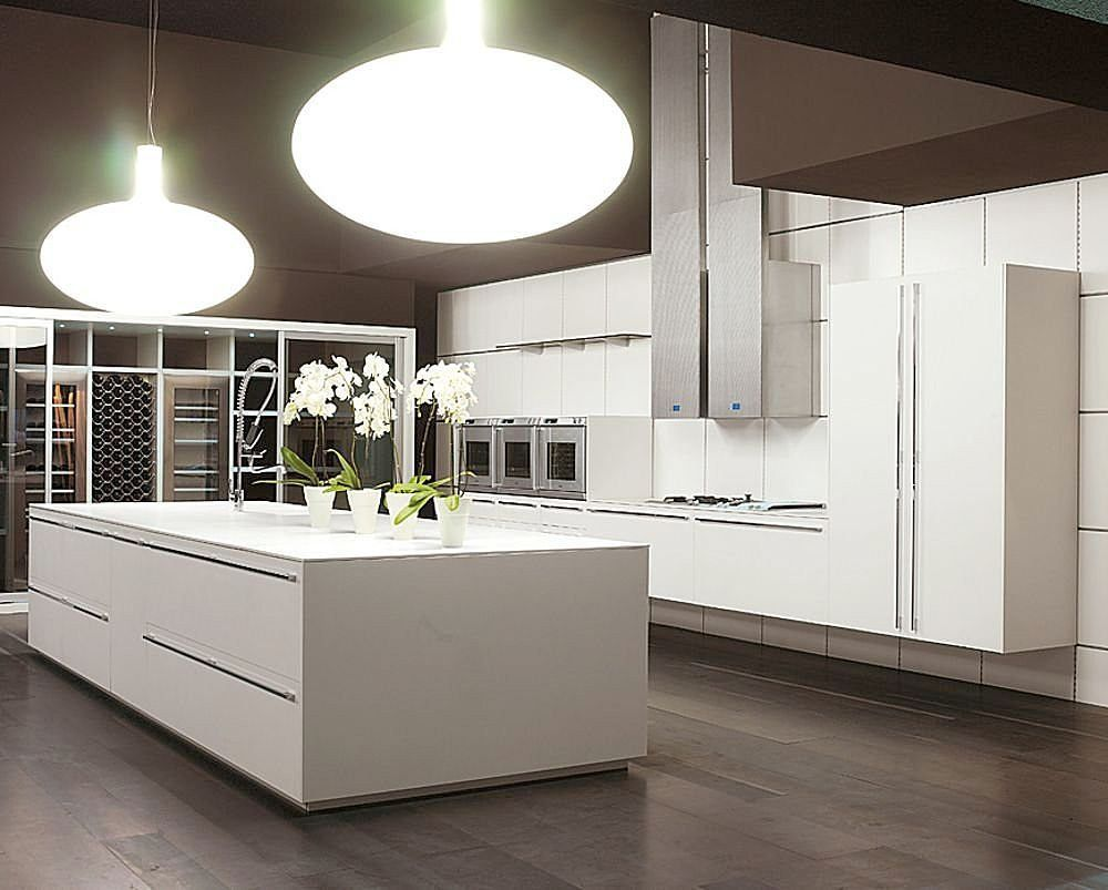 modern kitchen cabinets contemporary kitchen cabinets matt lacquer ...
