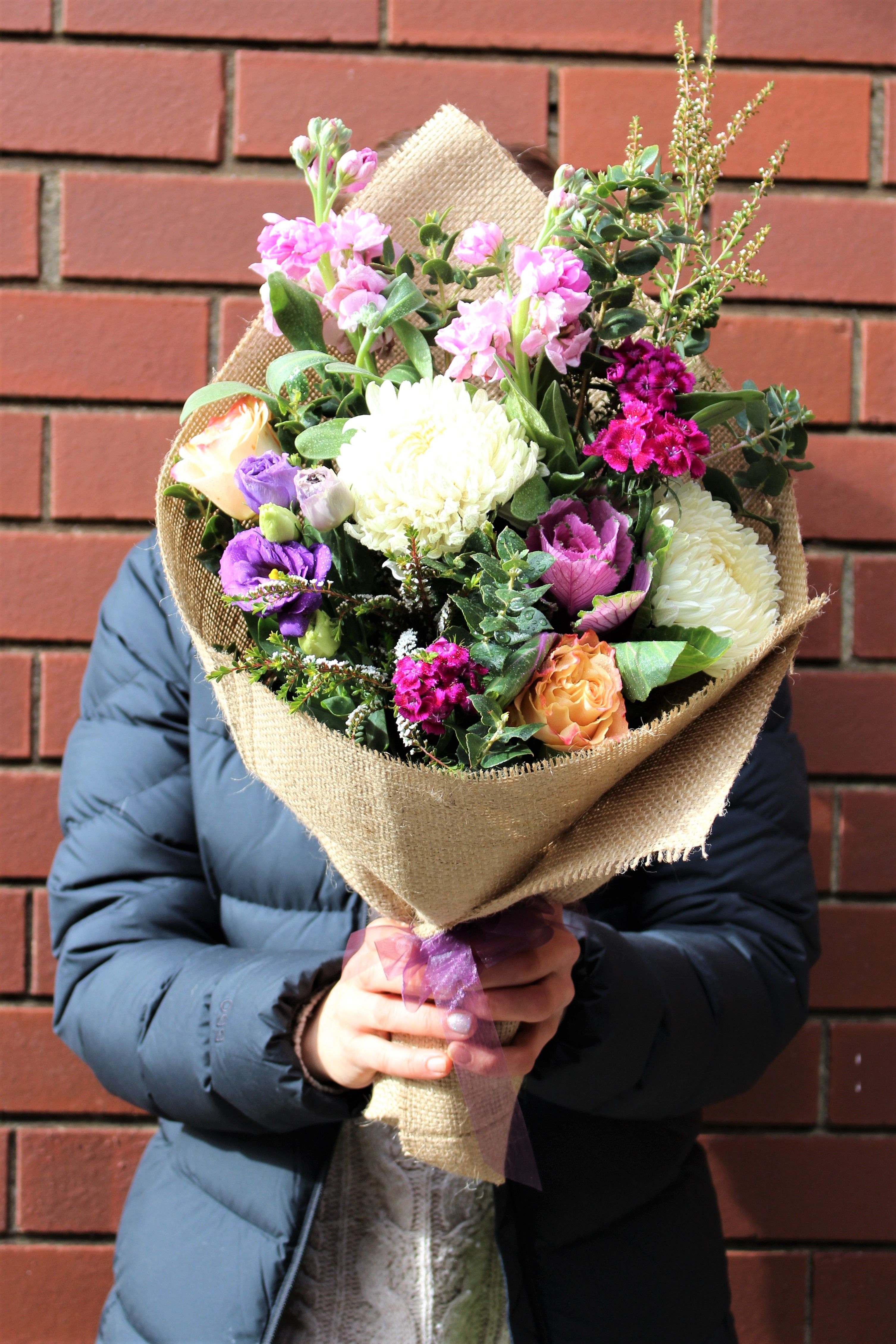 Remember the moment forever with our Winter Charm bouquet