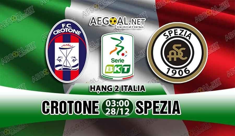 Crotone vs Spezia 28/12/2018 Free Football Betting Tips