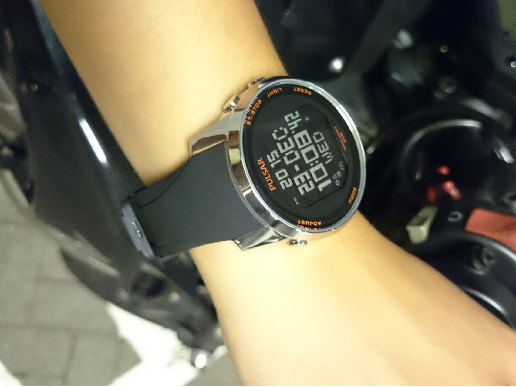 t pin digital pulsar watch racing speed don love model of sense out watches auto miss