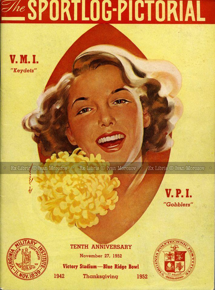 1952.11.27. Virginia Tech (Hokies) at Virginia Military