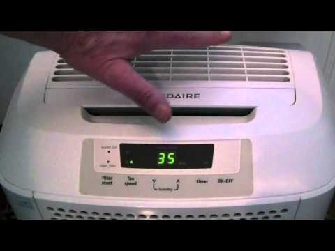 Dehumidifier Ratings for the Frigidaire 50 Pint Dehumidifier