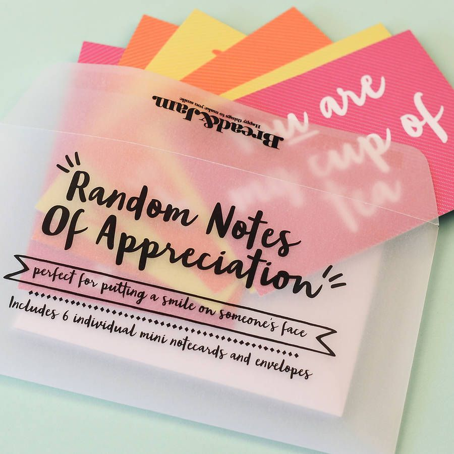 Random notes of appreciation notecards appreciation note note random notes of appreciation notecards thecheapjerseys Images