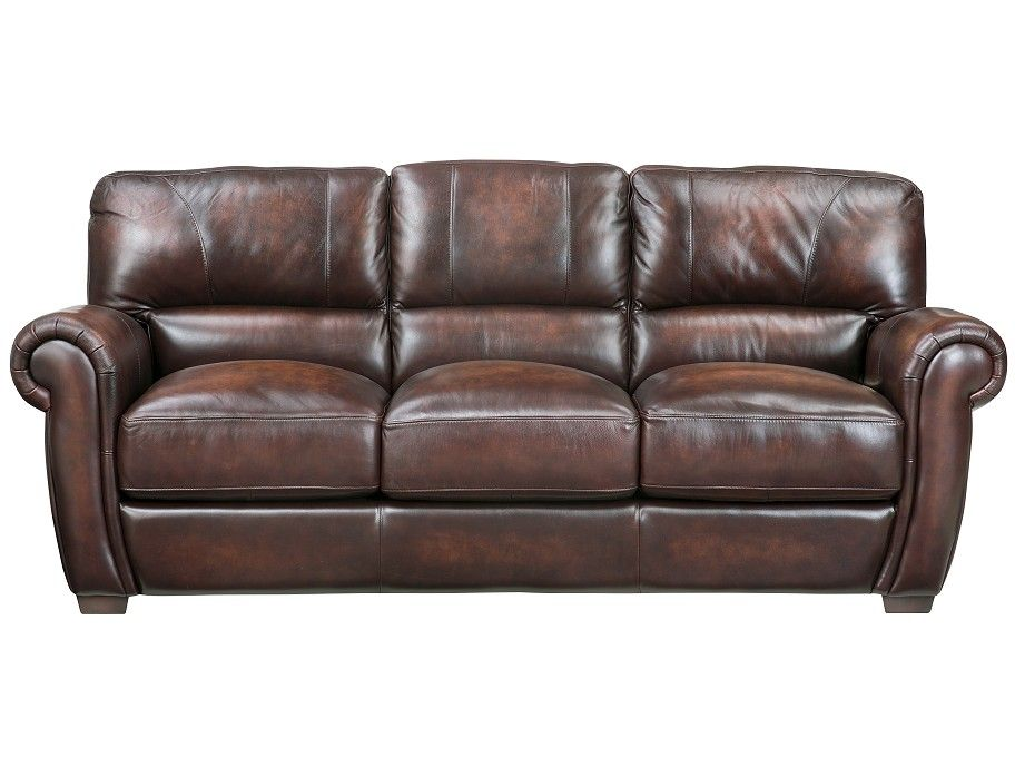 Groovy Slumberland Baron Collection Brown Sofa The Cottage Evergreenethics Interior Chair Design Evergreenethicsorg