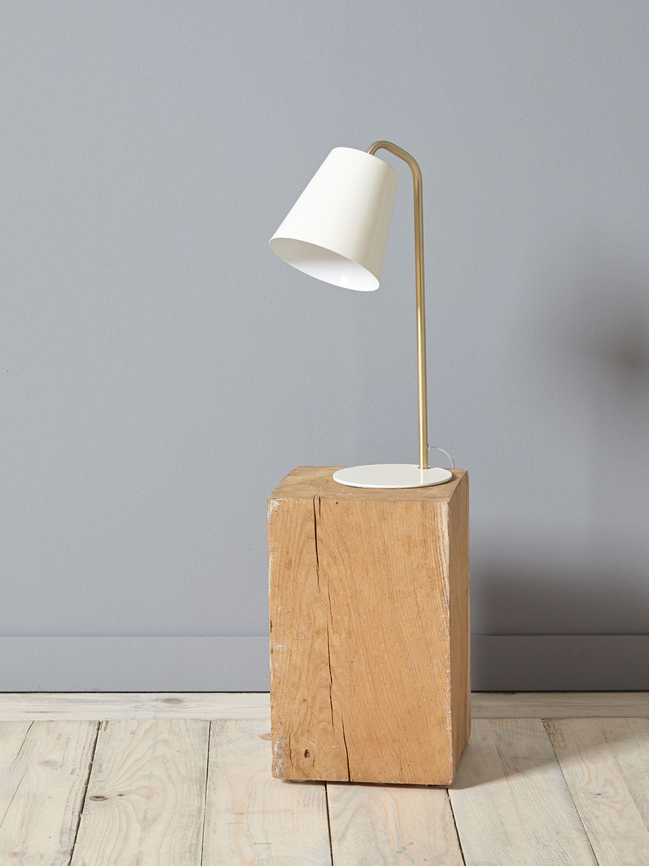 Lampe cloche en métal doré Maison Vetement et déco Cyrillus