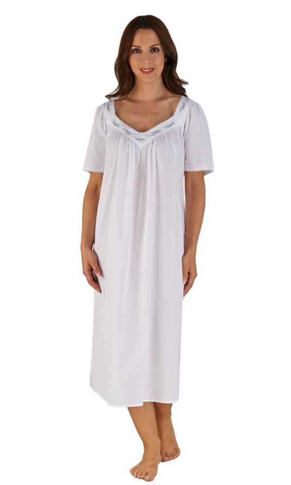 LADIES SOFT AND COMFORTABLE NIGHTDRESS NIGHTY COTTON SIZE 8 10 12  18 20
