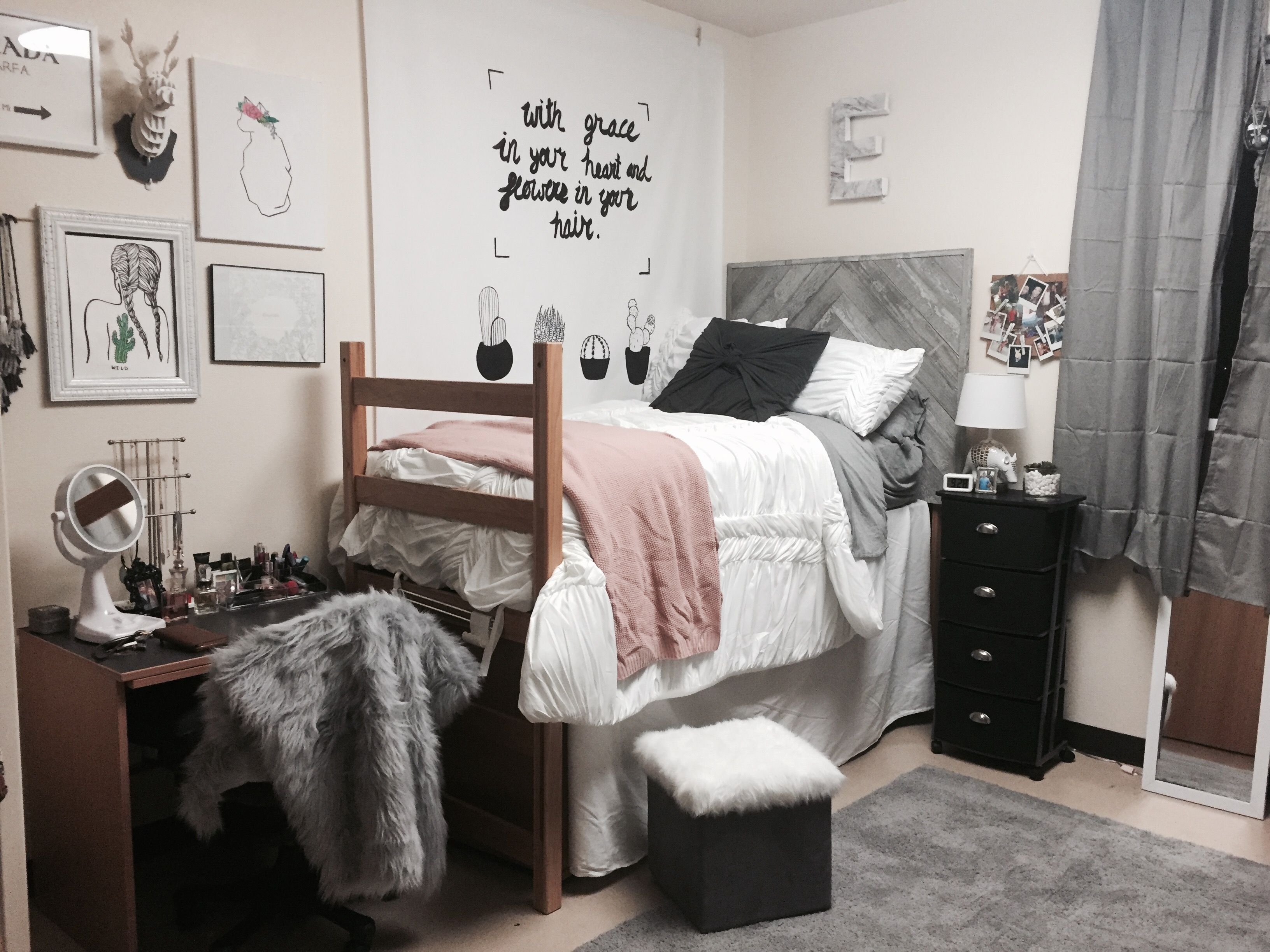Creative Dorm Room Ideas to Make Your Space More Cozy  Dorm room
