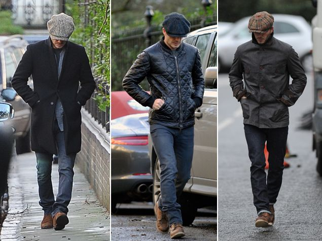 Take It From Him  David Beckham on How to Wear the Flat Cap  070cd738a38