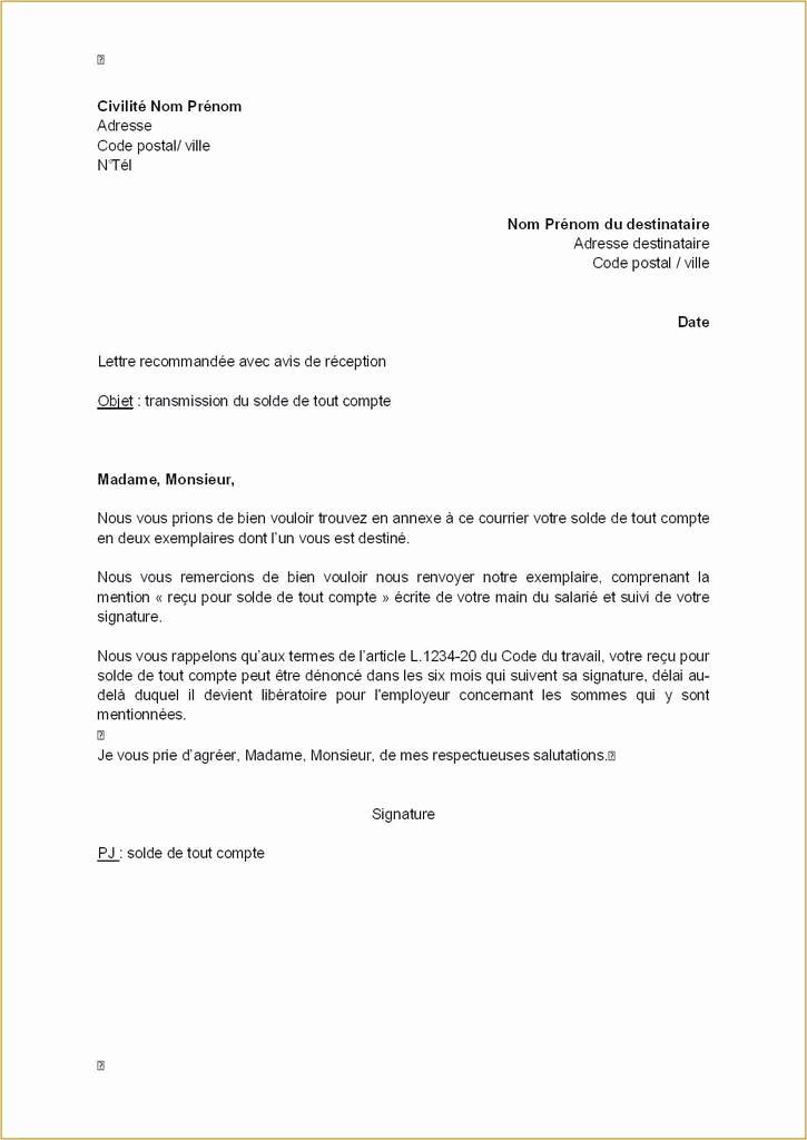 avis marge pour lettre administrative lettre type