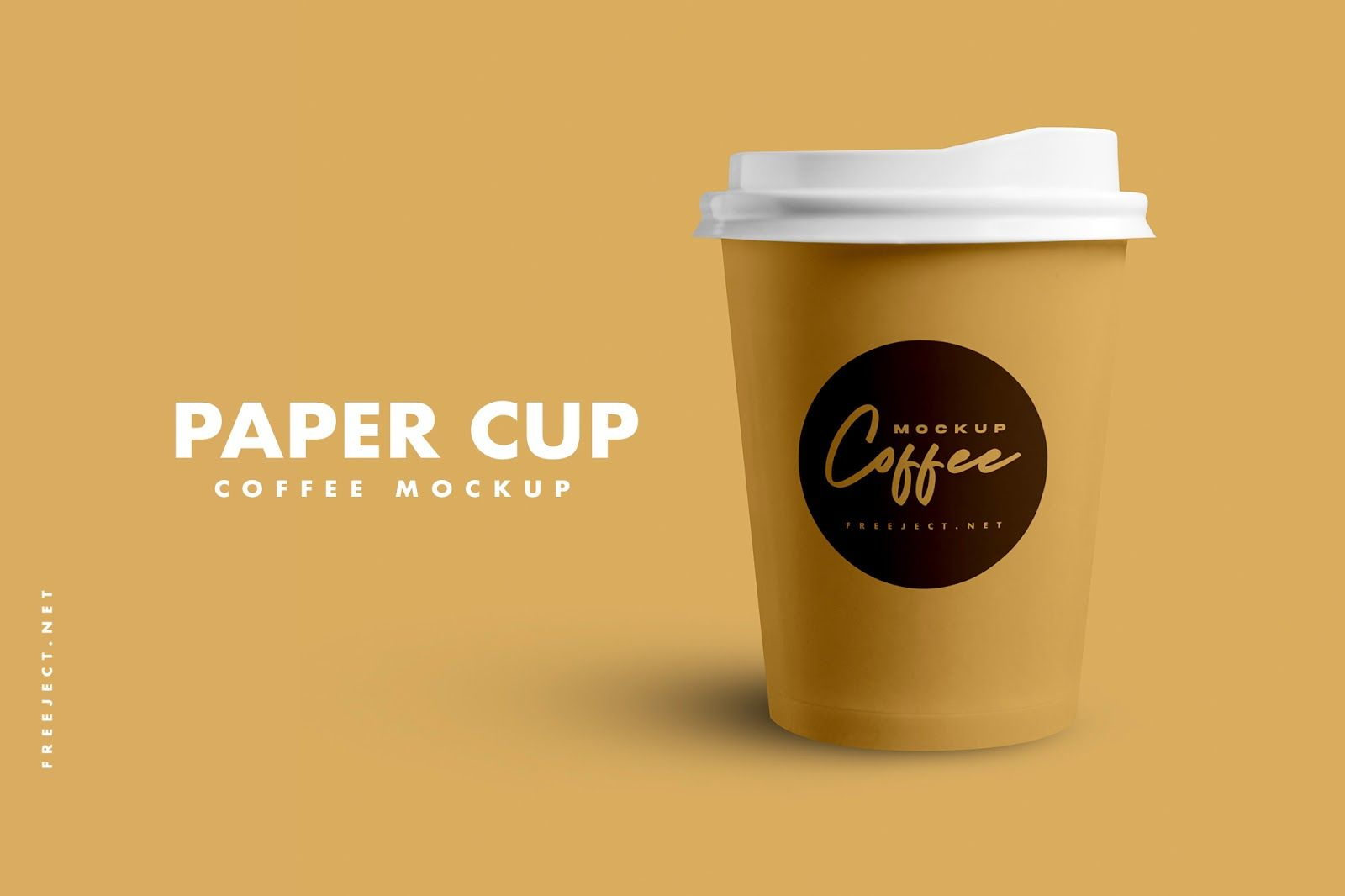 Download Free Download Paper Cup Coffee Mockup Template Psd File Paper Cup Mockup Template Mockup