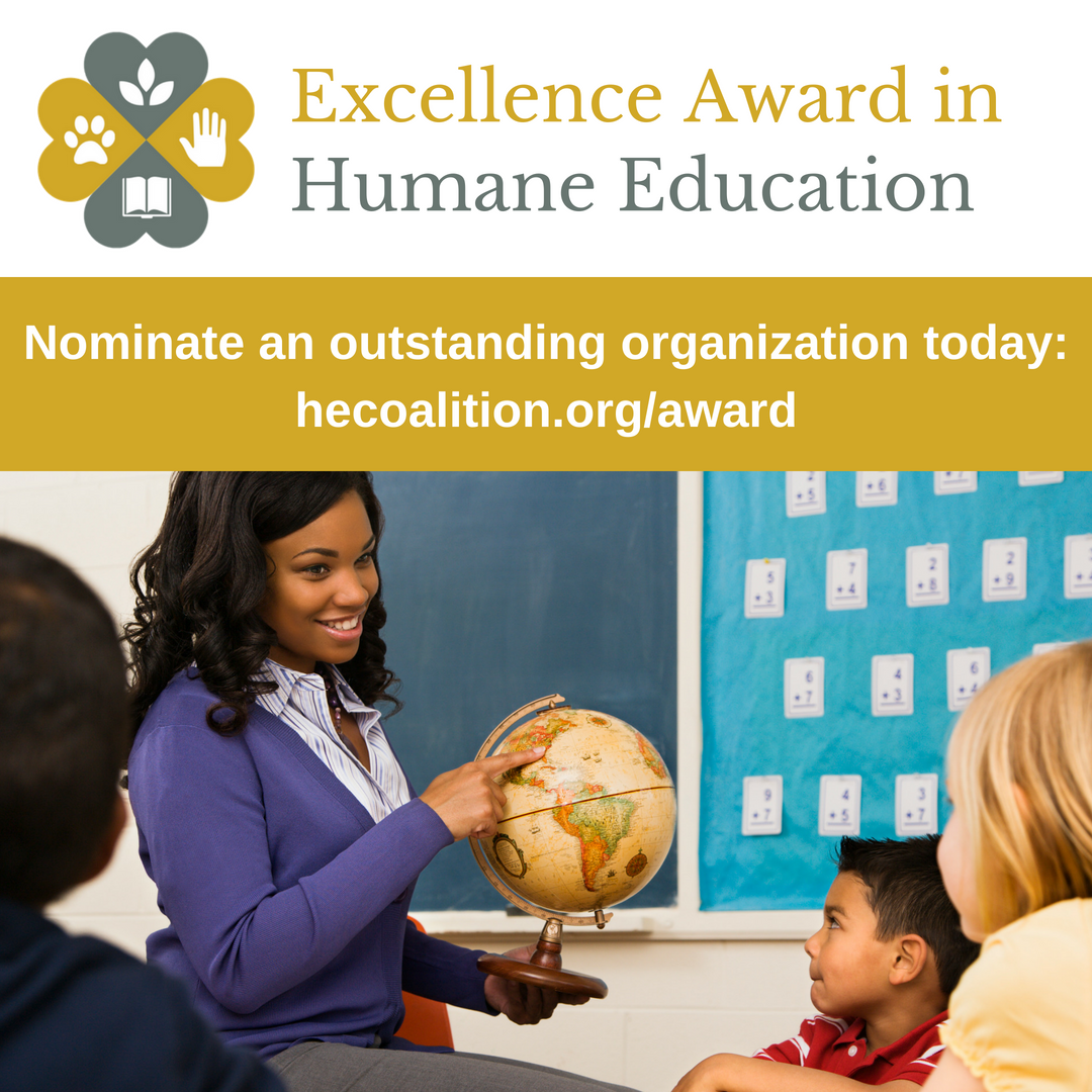 Do You Know An Organization That Should Be Recognized For