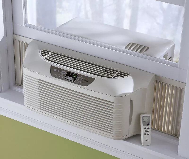 Large window air conditioner amazon dyson v8 battery