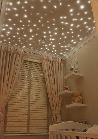 Fiber Optic Star Lights Baby Nursery Ceiling Why Is That In The S Room I Want Those My