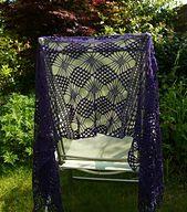 Ravelry: Single Skein Shawl pattern by Helen Kennedy