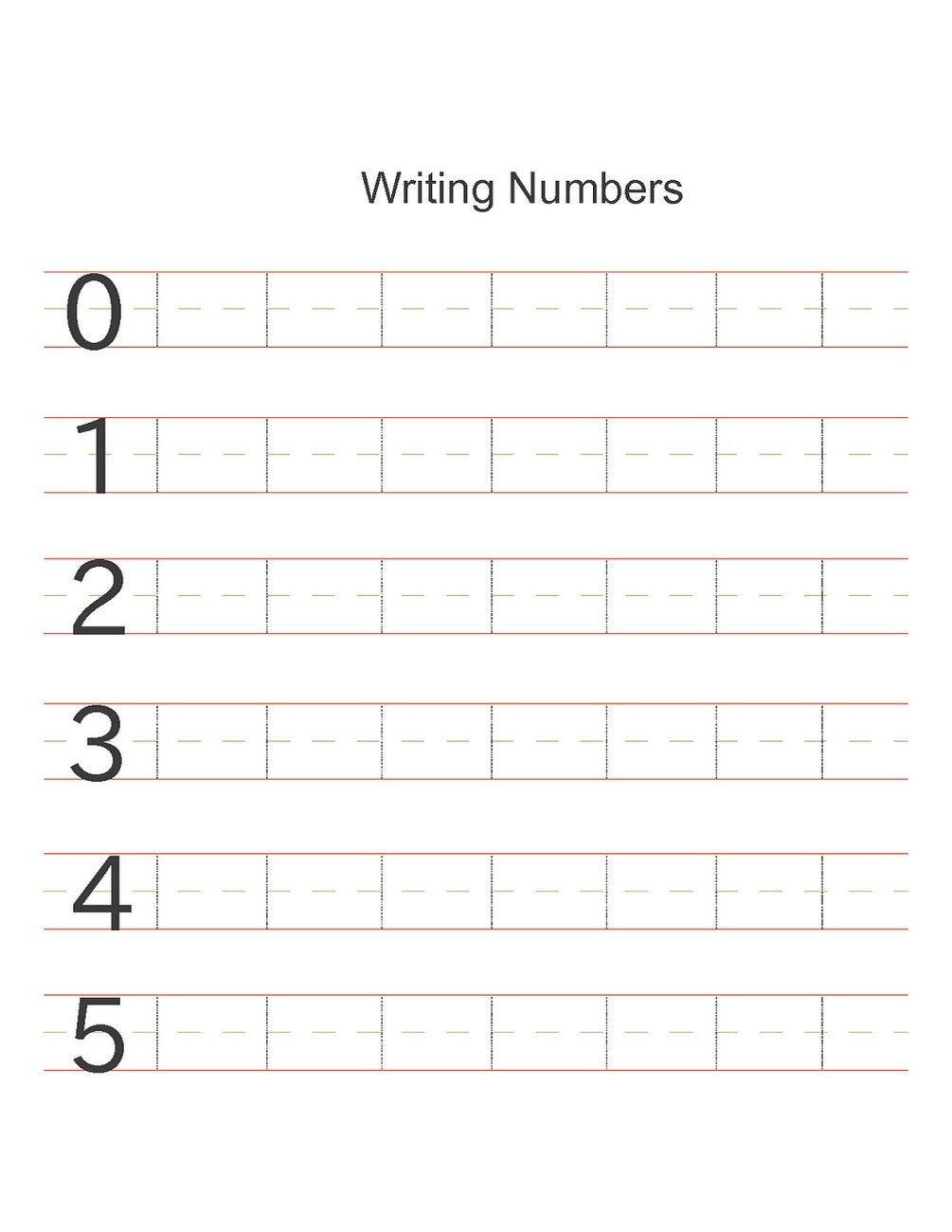 numbers activities for preschoolers writing | beş 5 | Pinterest ...