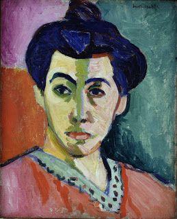 """Madame Matisse"" (1905) Henri Matisse"