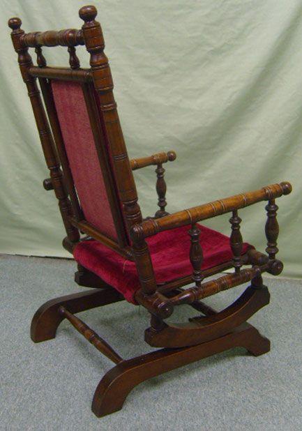 Victorian Child Rocking Chair 09182 - 09182r3 Antique Furniture Furniture Pinterest Antique