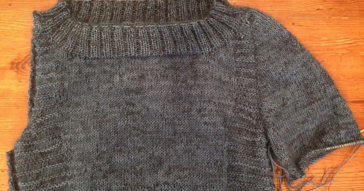Knitting Top Down Set In Sleeves Is A Technique I Learned Years Ago