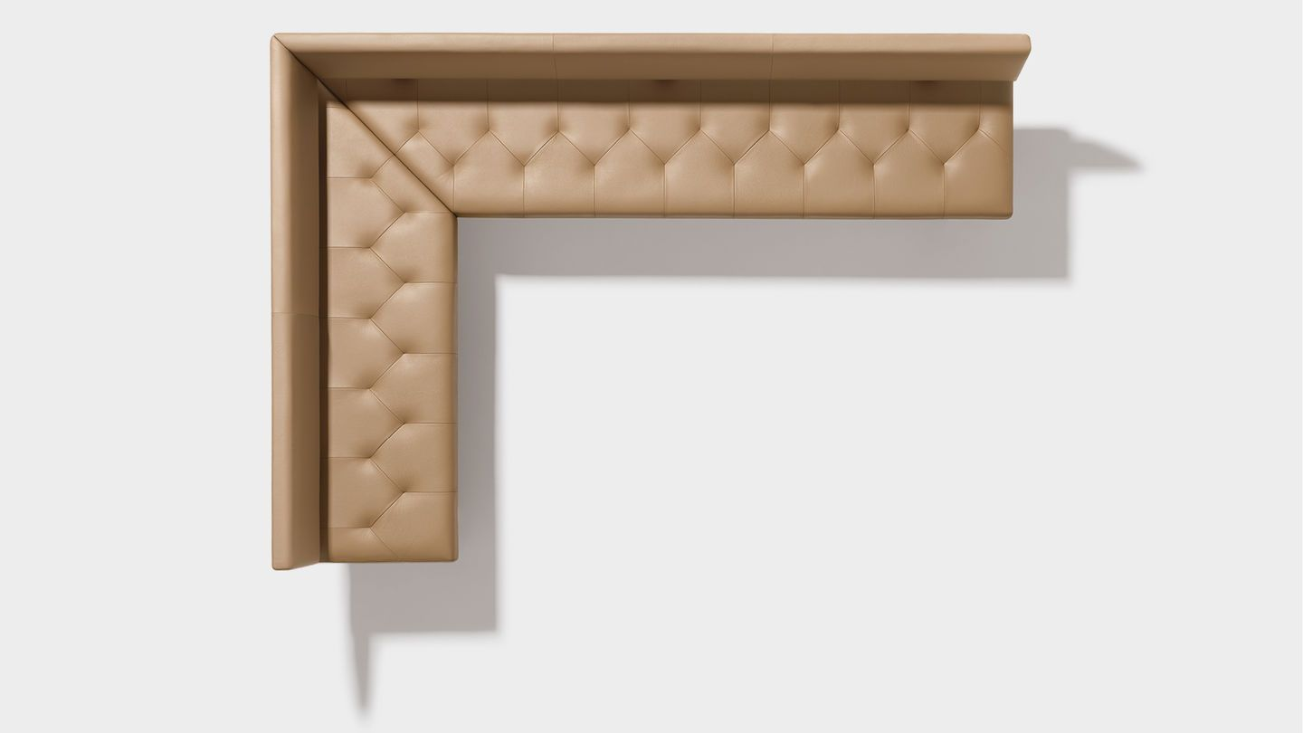 Eckbank holz leder modern  yps bench as a corner seat with special upholstery | Esszimmer ...