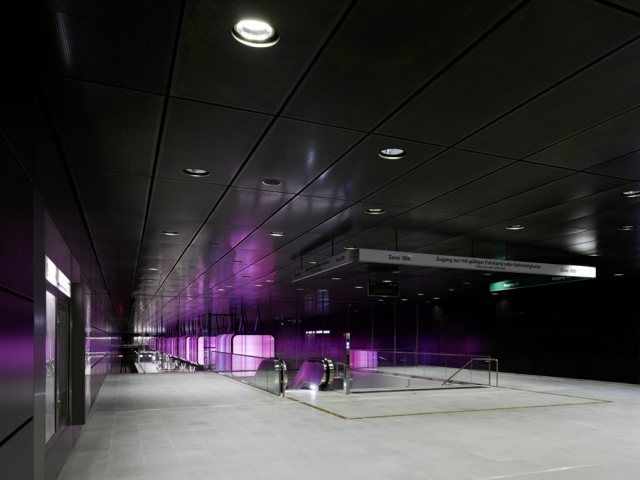 U bahnhof by pfarré lighting design