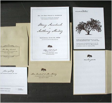 Vintage illustrative invitation mood boards pinterest cement green brown and white invitations stopboris Choice Image