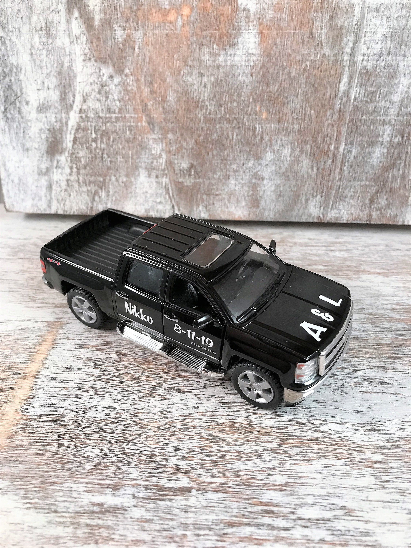 Personalized ring bearer truck ring bearer gift car