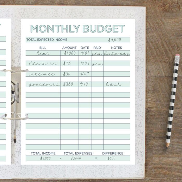 11 Awesome  Free Budget Planners to Help You Budget Better Budget