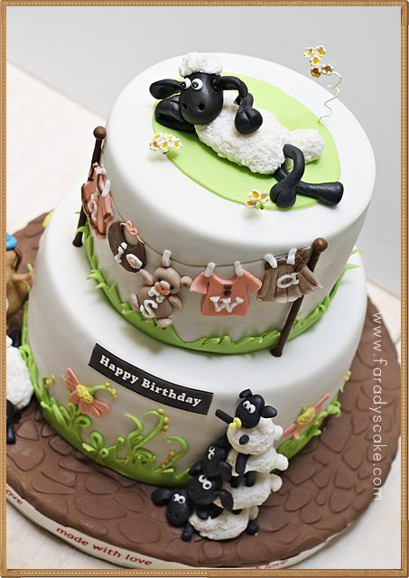 Shaun The Sheep Birthday Cake Birthdays Are More Special With A - Sheep cakes birthday