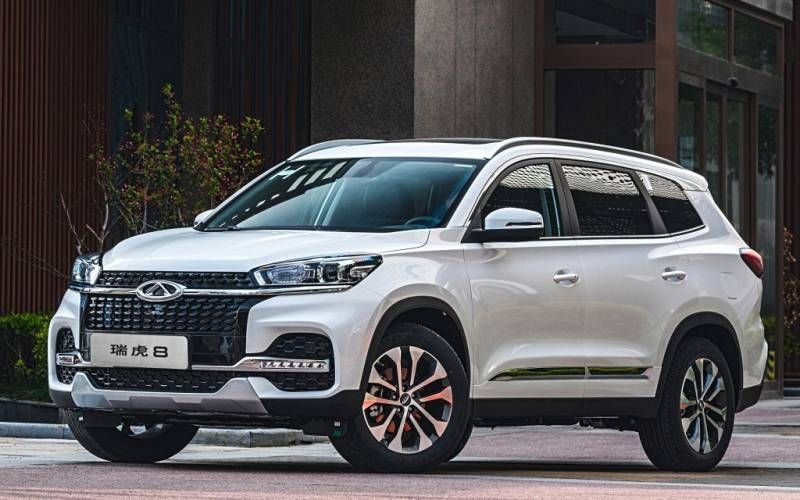 Chery Tiggo 8 Luxury 2020 in 2020 Sport utility vehicle