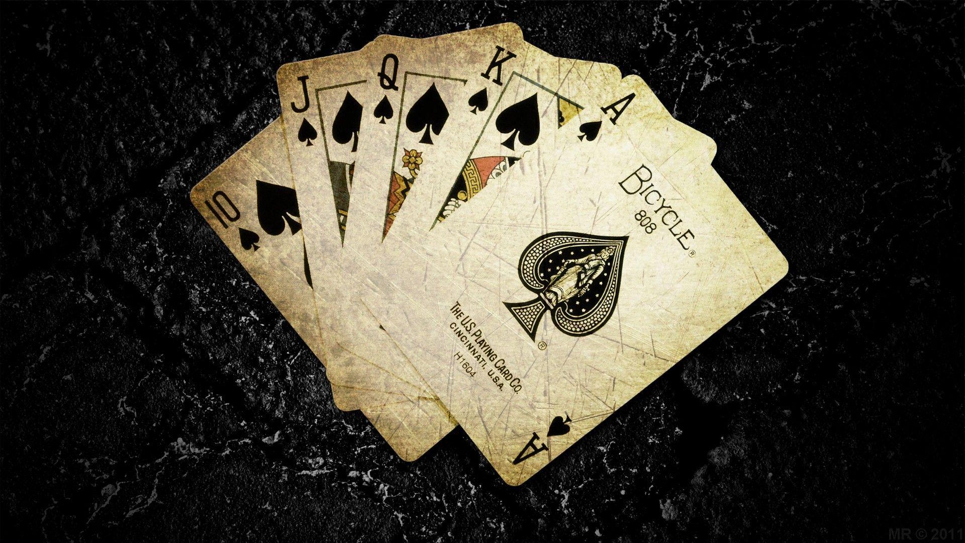 Card Game Dark 1920x1080 Wallpaper Wallpapers In 2019 Spades