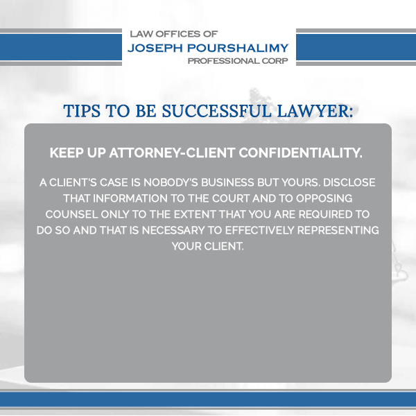 Tips To Be Successful Lawyer Keep Up Attorney Client