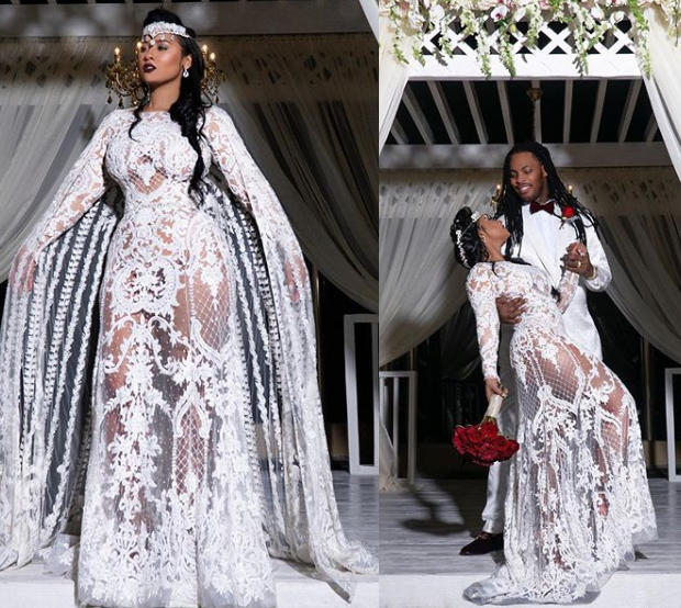 Rapper Waka Flocka And Wife Tammy Rivera Share Glamorous Photos Fromatheir Wedding Ceremony In Mexicoa Elegant Dresses For Women Tammy Rivera Tammy And Waka