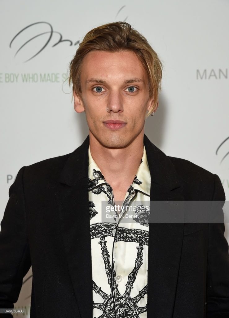 Jamie Campbell Bower attends the screening of 'Manolo ...