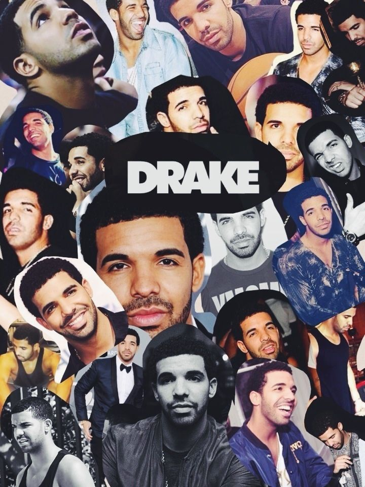 Pin by jordan diggs on that ovo and that xo pinterest - Drake collage wallpaper ...
