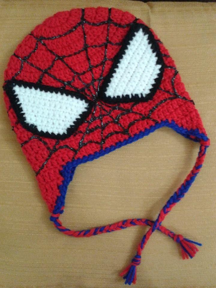 Touca do Homem Aranha!!! Touca De Trico Infantil fca5b68d1df