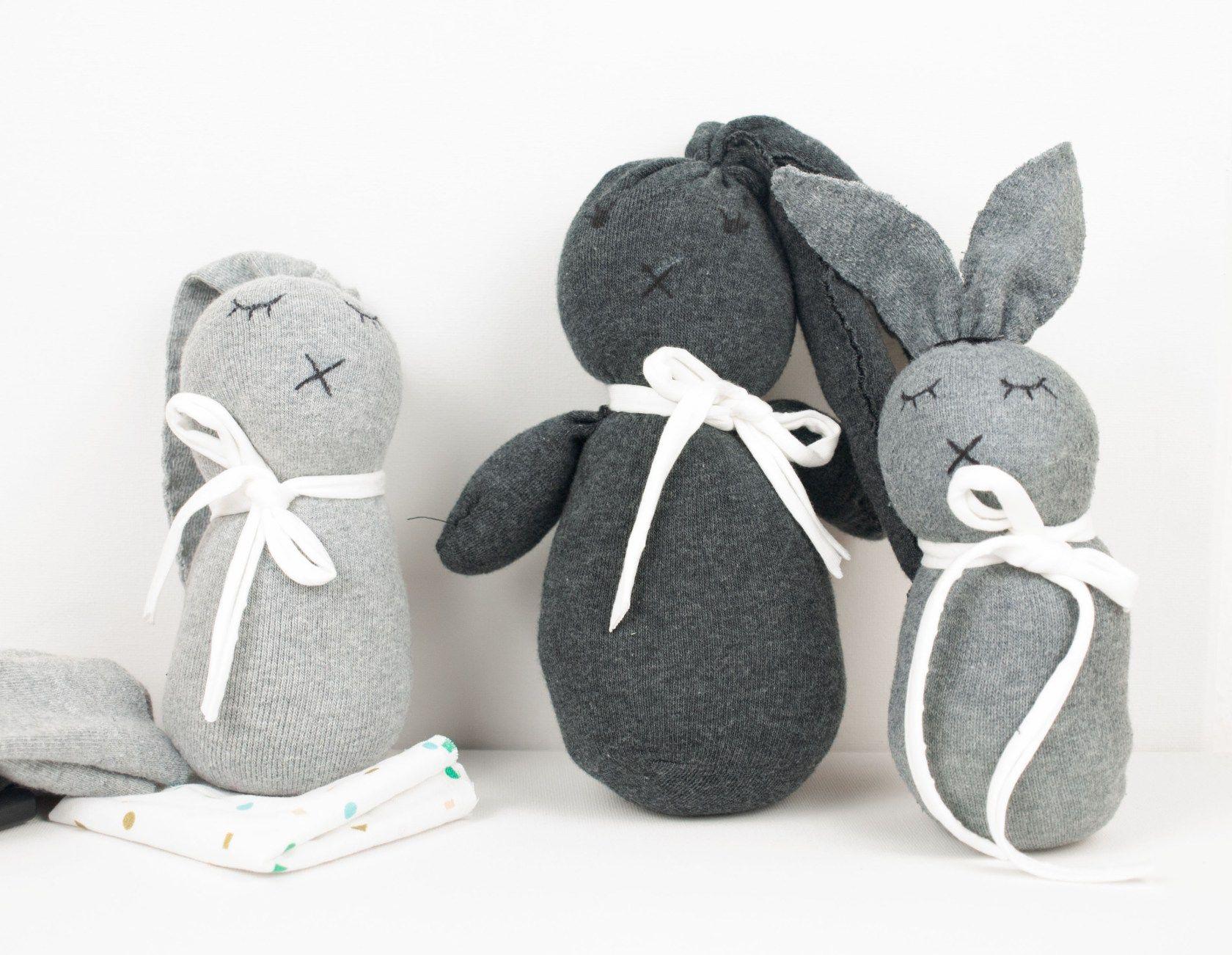 Kreativ Fur Kinder Diy Sockenhasen Sockenhase Basteln Mit