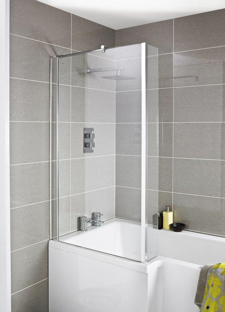 Amazing Fixed Bath Shower Screens Photos - The Best Bathroom Ideas ...