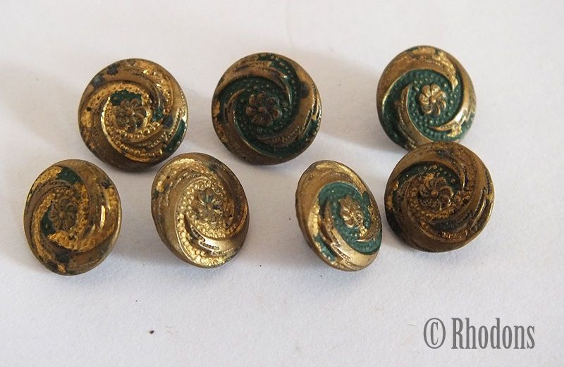 Dating antique metal buttons