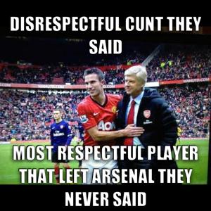 Football Meme Van Persie Soccer Memes Arsenal Memes Football Is Life