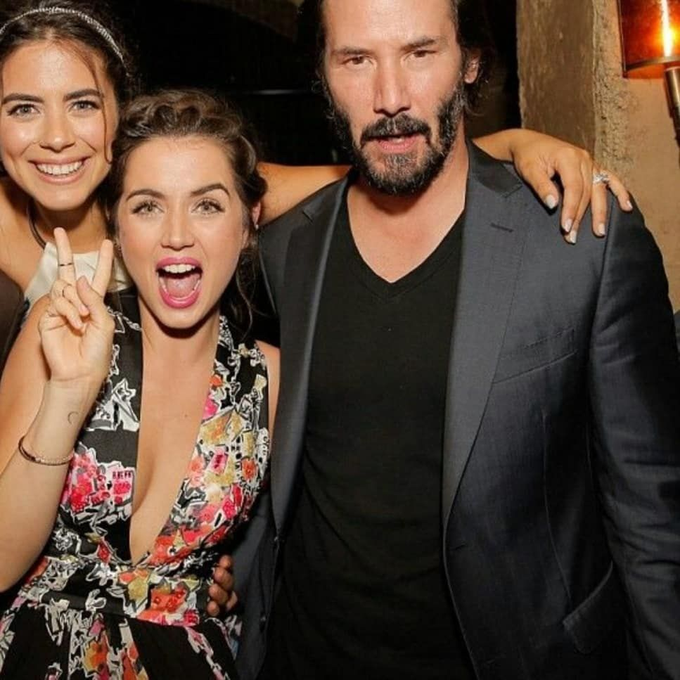 Keanu Reeves Fan Account On Instagram Images Of Keanu Reeves And The Bad Girls Lorenzaizzo Anadearmas Of Knockknock Mo Keanu Reeves Bad Girl Girl