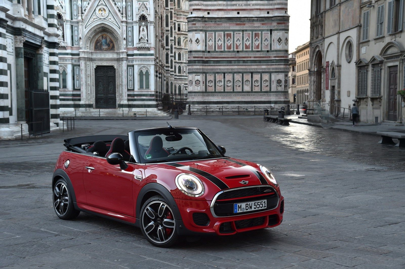 The new mini john cooper works convertible john cooper works now launches the second top athlete of the new model generation new mini john cooper works