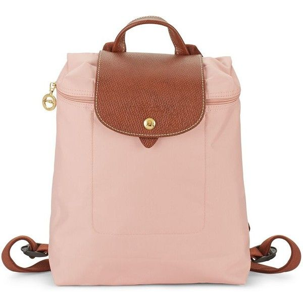Longchamp Le Pliage Backpack ( 100) ❤ liked on Polyvore featuring bags,  backpacks, longchamp backpack, backpack bags, leather knapsack, day pack  backpack ... a969a44bc4