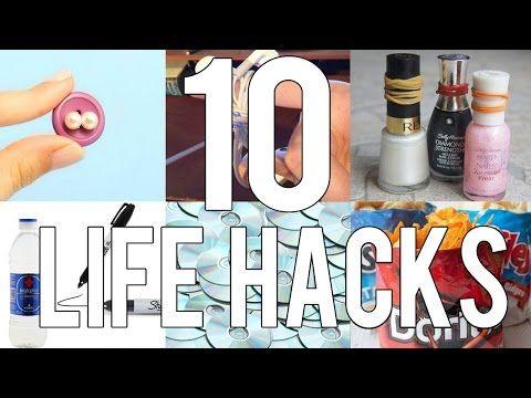 10 trucos/life hacks que harán tu vida mas fácil - Tutoriales Belen - YouTube